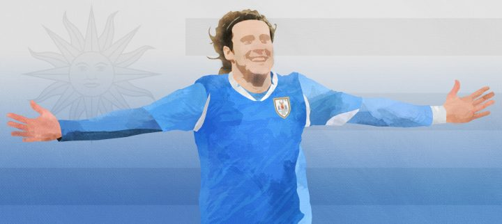 The beauty and magic of fútbol, Uruguay and Diego Forlán