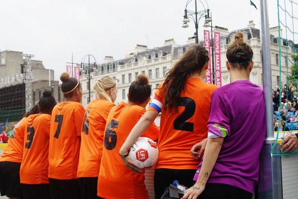 Celebrating football at the Homeless World Cup