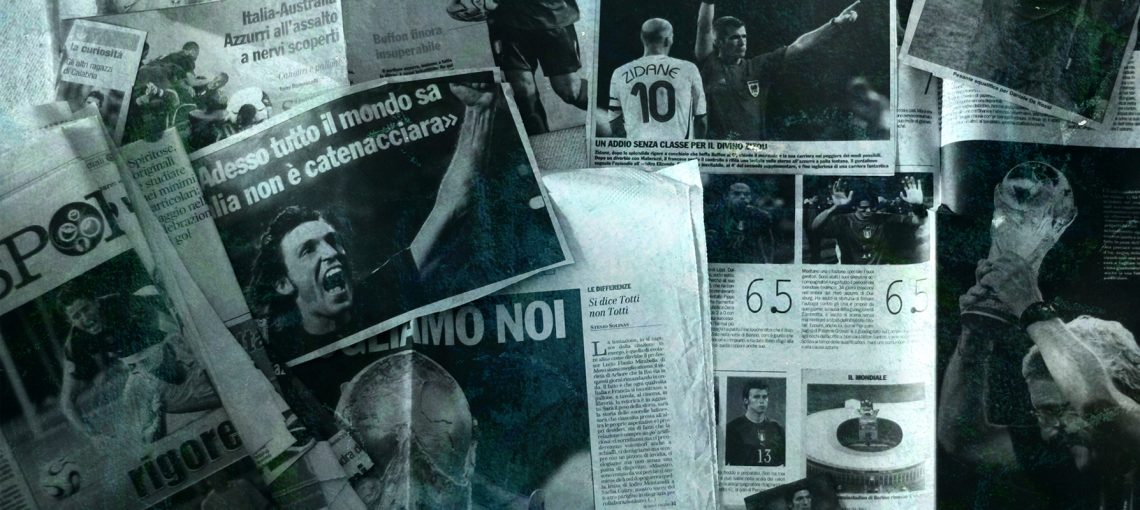 Finding (parts) of one's self through Italy's 2006 World Cup victory