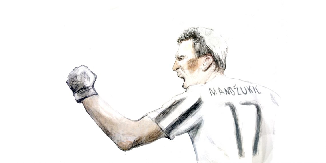 A look at Mario Mandzukic reveals footballers have hidden depths – just like us!