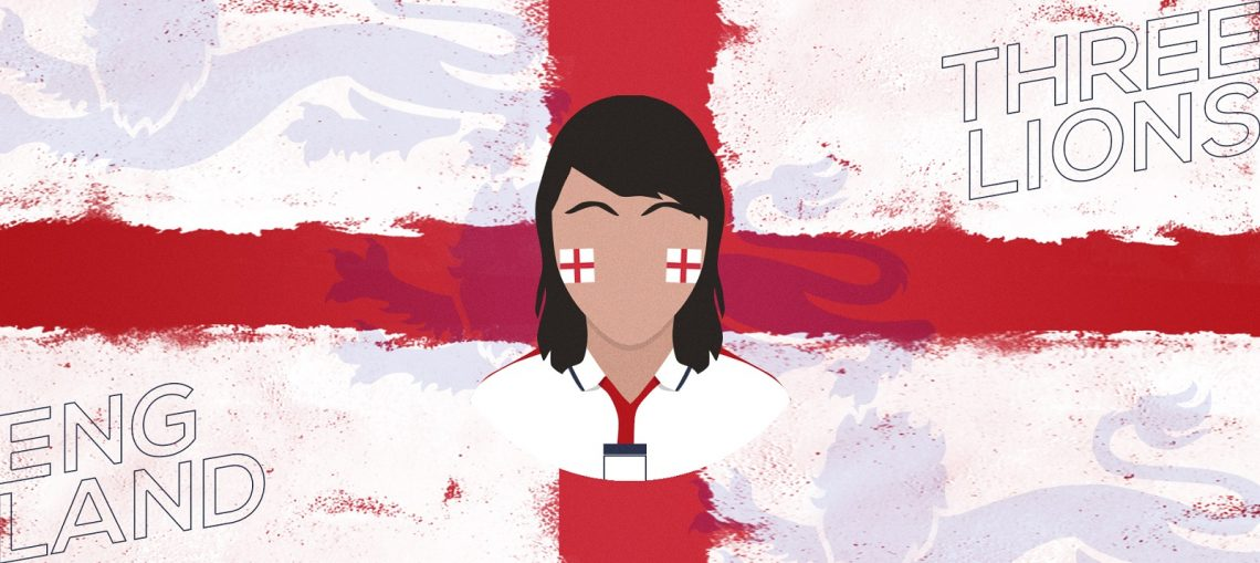 How you support England can be different solely because of what you look like