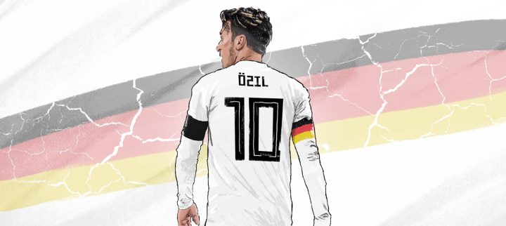 Mesut Özil vs. the world