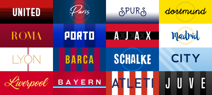 The hopes and dreams of Champions League teams