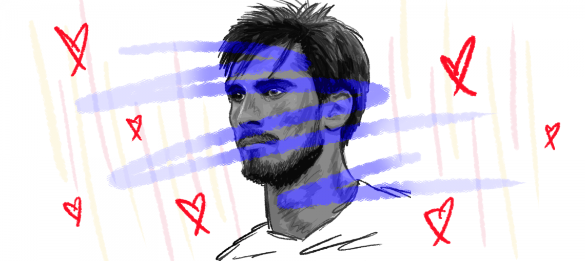André Gomes, a beautiful, beautiful man