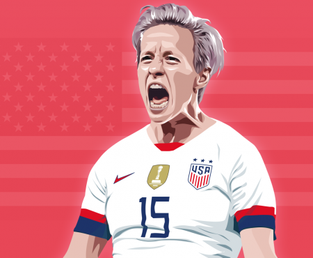 I'm not Megan Rapinoe but I'm proud to be mistaken for her