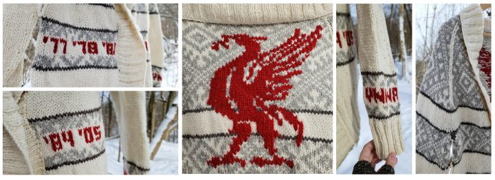 Stitch Invasion: When Football and Knitting Collide